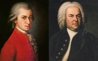 Bach & Mozart for the New Year - Poster