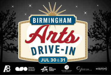 Birmingham Arts Drive-In - Poster